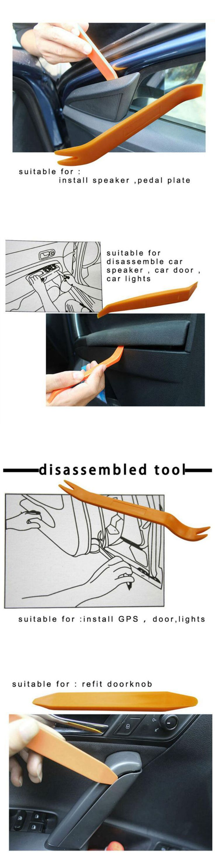 Car Audio Video And GPS: 4Pcs Professional Car Auto Dismantle Tools Kit For Audio System And Gps Video -> BUY IT NOW ONLY: $0.06 on eBay!