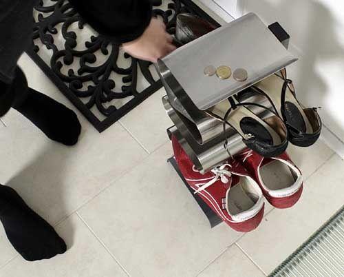 Как удобно хранить обувь в прихожей: современная полка для обуви - Своими руками