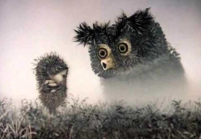 Il riccio nella nebbia. Youri Norstein (1975)