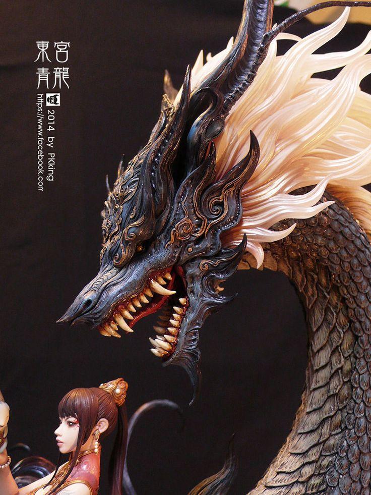 Azure Dragon by pkking1288 on DeviantArt