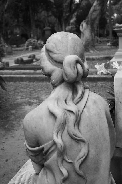 Detail of a monument in Bonaventure Cemetery by Jeanie Sorrells Beach IMG_0201   Flickr - Photo Sharing!