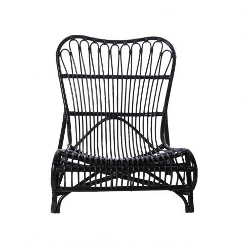 House Doctor Colone Black Lounge Chair