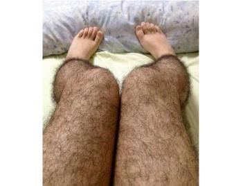 Hairy Legs Stockings... The hairy legs stockings is a product from China that is meant to deter rapists.: