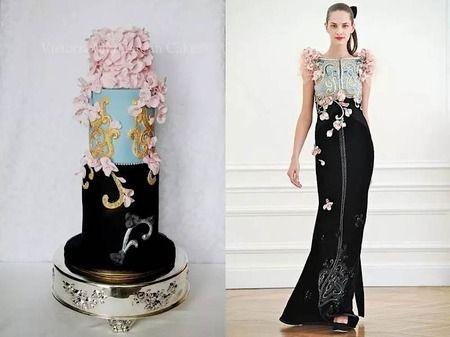 Ever see a wedding cake modeled after the bride's dress?   (By Sugarland )    SO COOL.       In fa...