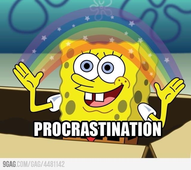 I'll do my homework later