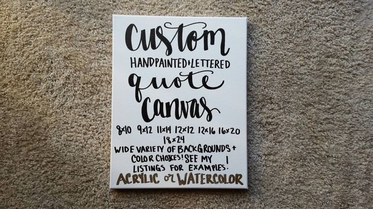 Custom Quote Canvas Home Decor Quotes On Canvas Custom Canvas Quote Art Nursery Bedroom Wedding Anniversary Gift Graduation Choose Your Text by ArtOfWordsBoutique on Etsy