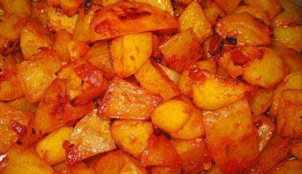 Gebakken Aardappels Gekaramelliseerd Met Honing recept | Smulweb.nl