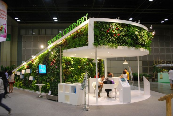 Greenology Greenwalls and Greenroofs at the Singapore Garden Festival
