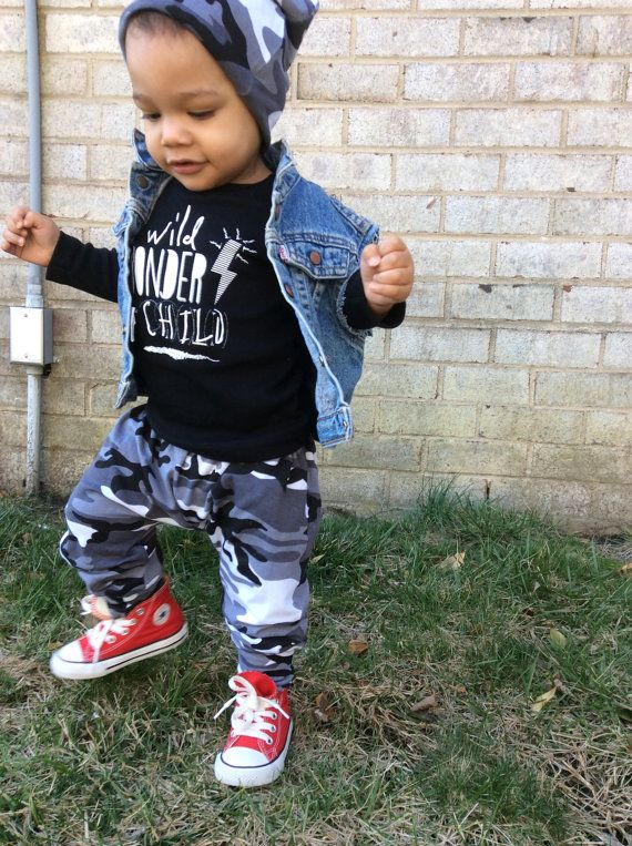 Harems   Toddler Toddler x asics Kids Boys Cotton Pants Black Camouflage Pant v Harem lyte Camo Spandex Baby gel kith Knit Boy Gray and Pants  Harem