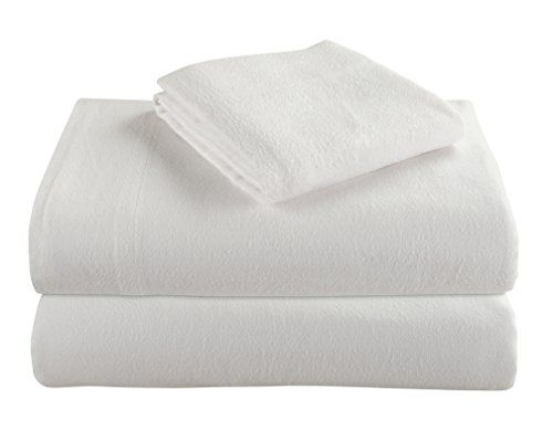 Cotton Turkish Flannel Sheets By Morgan Home Fashions - 100% Brushed Cotton for Supreme Comfort - Deep Pockets - Warm and Cozy, Great for All Seasons (White, King) #Cotton #Turkish #Flannel #Sheets #Morgan #Home #Fashions #Brushed #Supreme #Comfort #Deep #Pockets #Warm #Cozy, #Great #Seasons #(White, #King)