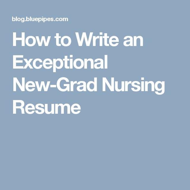 Ponad 25 najlepszych pomysłów na Pintereście na temat tablicy - new nurse resume template