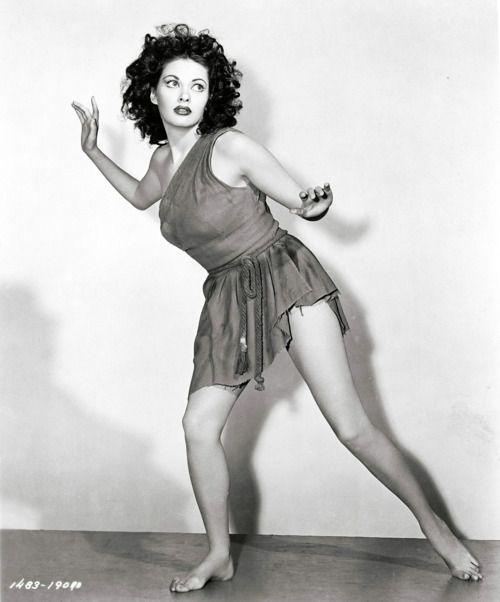 "Yvonne De Carlo in ""Song of Scheherazade"" (1947)."