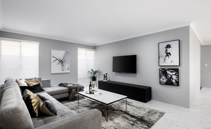 Spacious well designed family living areas