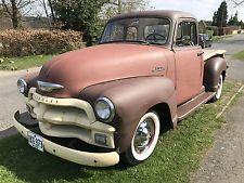 1954 Chevrolet 3100 Stepside Pickup Hot Rod LHD 1955 1957 F100 Rat Rod