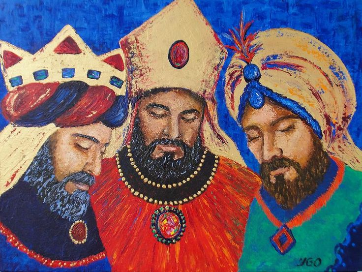 three+wise+kings+pictures | My Three Wise Kings Painting by Yamelin Gonzalez-Ortiz - My Three Wise ...