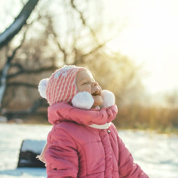 smile, child, baby, winter, girl