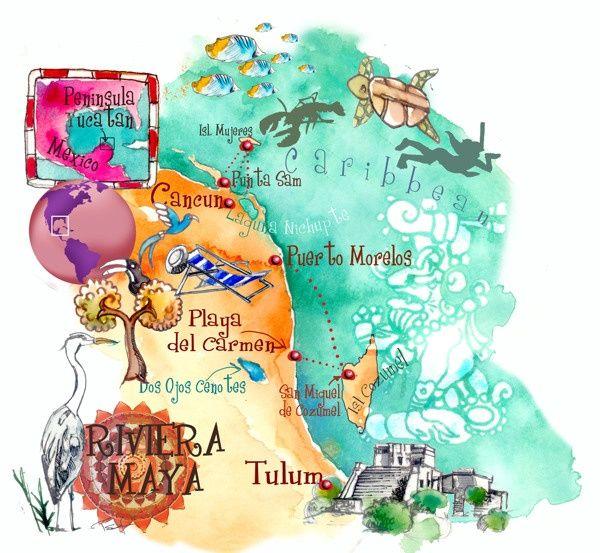{Itinéraire} Mon voyage au Mexique