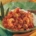 Low Fat Bacon Shrimp Creole