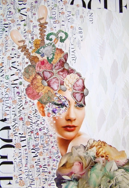 Emilia Elfe (handmade collage)