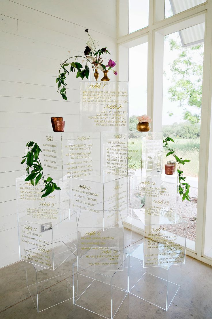 Alex Box Seating Chart : seating, chart, Hello, Modern, Perspex, Table, #weddingtableplan, #weddingtablefavoursunique, Wedding, Seating, Chart, Display,, Wedding,