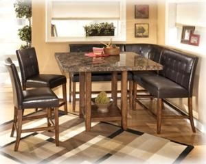 D32833 in by Ashley Furniture in Chicago, IL - Square DRM Counter Table
