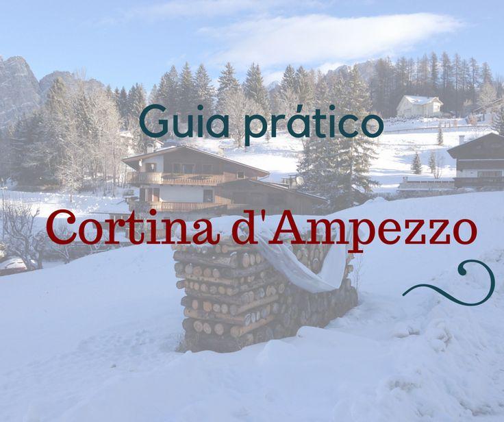 Um guia recheados de dicas de Cortina d'Ampezzo, um dos lugares mais bonitos da Itália para esquiar!