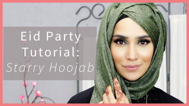 EID + WEDDING STYLING: TWO HOOJAB TUTORIALS! | Amena