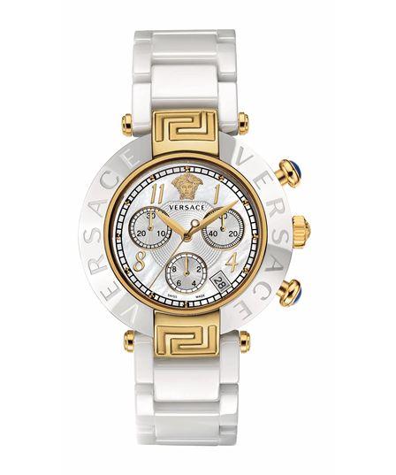 Versace Versace Reve Mother Of Pearl 39mm Watch