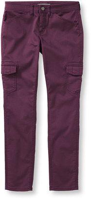 Beans Performance Stretch Cargo Pants - Shop for women's Pants - Dark Wine Pants