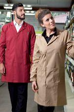 PAGAMENTO ANCHE ALLA CONSEGNA Camice da Lavoro Uomo Donna Manica lunga industriale Abbigliamento Abiti