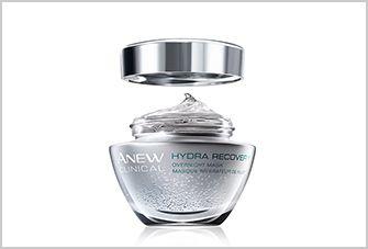 Anew Clinical Hydra Recovery Máscara Noturna para Rosto