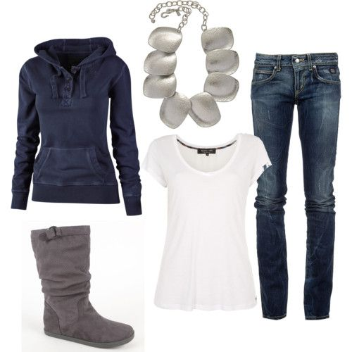 comfy chic: Casual Outfit, Hoodie, Dream Closet, Winter Outfit, Fall Outfit, Fall Winter, My Style