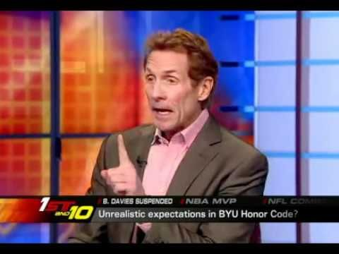 http://brosimonsays.wordpress.com/  ESPN Video: BYU Honor Code Unrealistic? ESPN analysts discuss the BYU honor code and if a team ever has a chance of winning (and attracting the kind of talent to win) with such strict rules