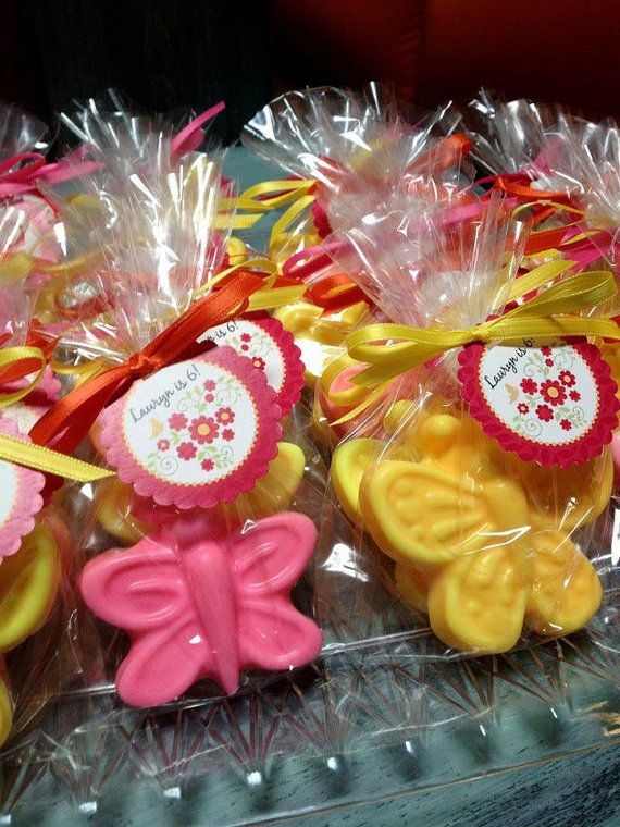 Butterfly soap favors; birthday favor; baby shower favor; cute as a bug