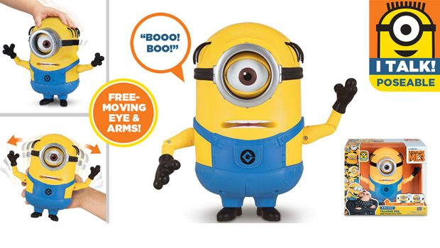 TALKING MINION ACTION FIGURE TALKING MEL