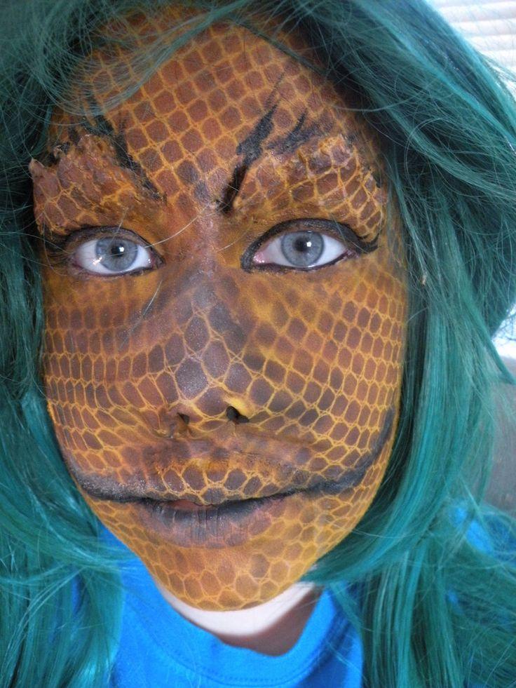 22 Best Lizard Reptile Makeup Images On Pinterest