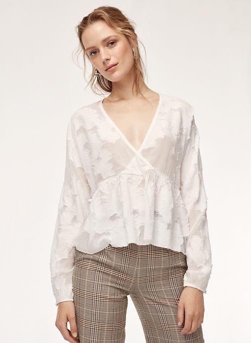 01904b7ed8 AUGUSTINE BLOUSE | Aritzia | yes please | Blouse, Fashion, Peplum blouse