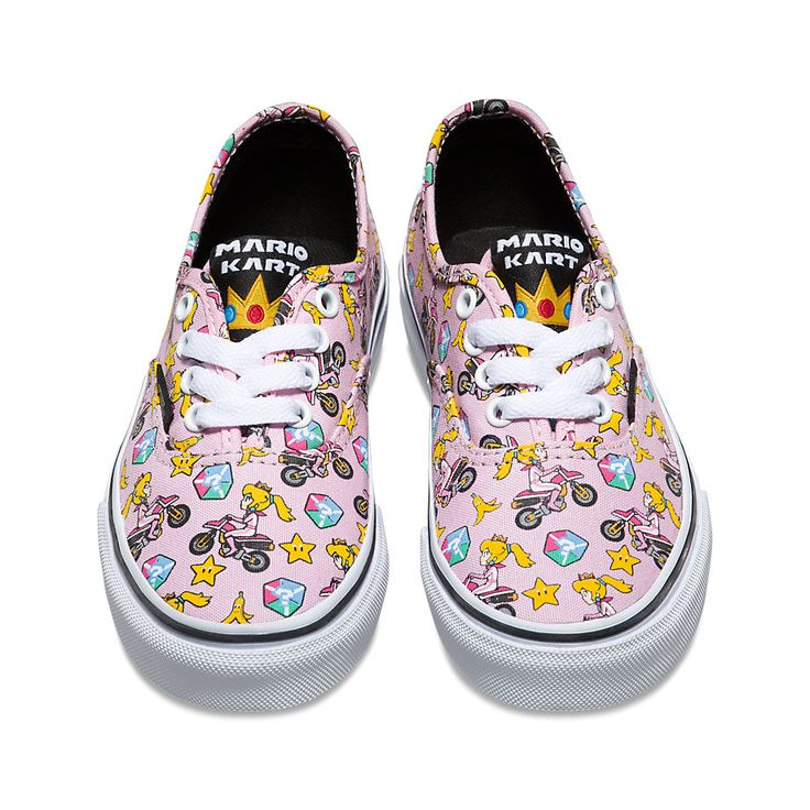 Princess Peach vans, part of the new Vans x Nintendo collection in stores now