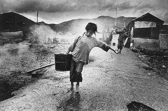 Ed Van Der Elsken, Water Carrier, Hong Kong,1960