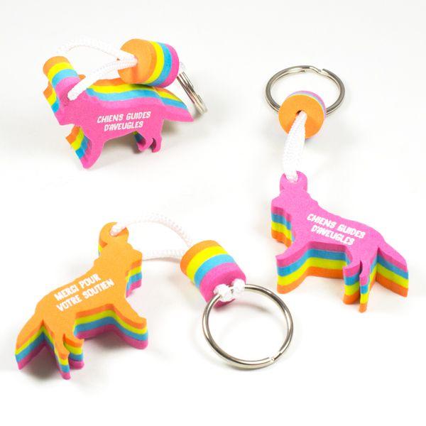 Chiens en mousse sur mesure pour les chiens guides d'aveugles - Cadeaux promotionnels - Goodies - Sur mesure