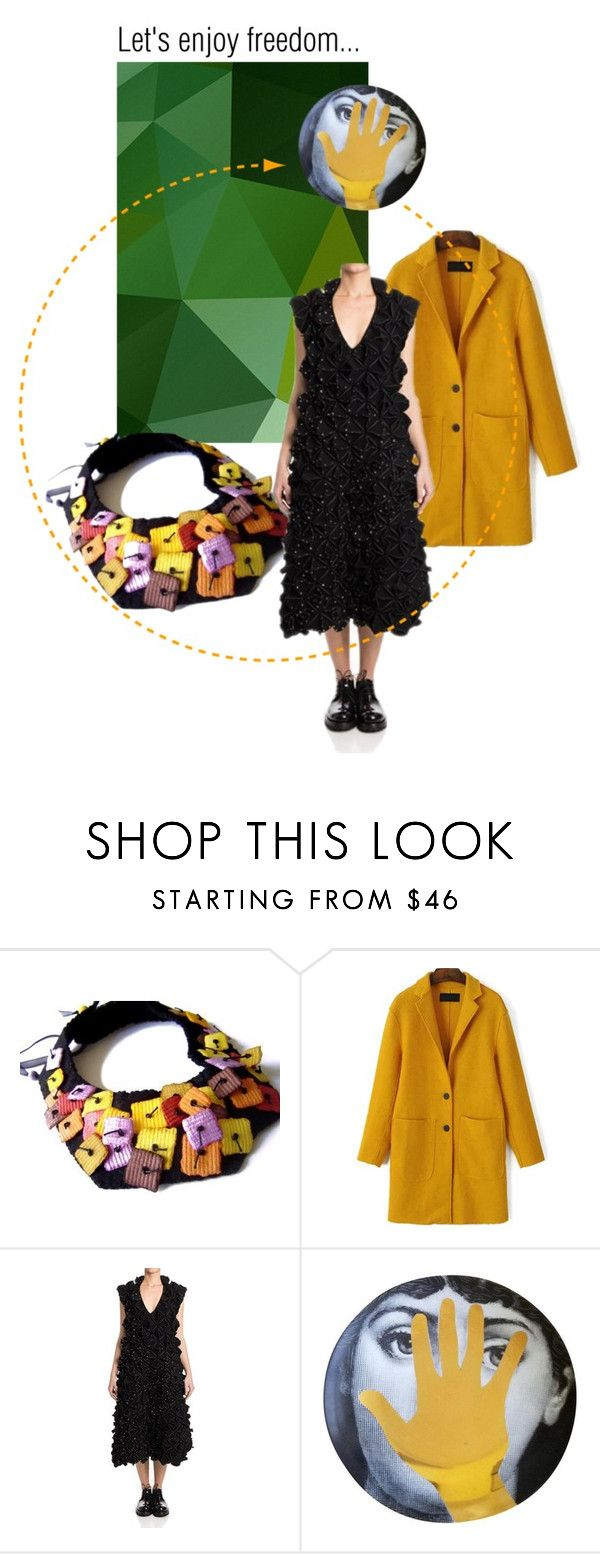 """""""Let's enjoy freedom"""" by renterodesigns on Polyvore featuring moda y Comme des Garçons"""