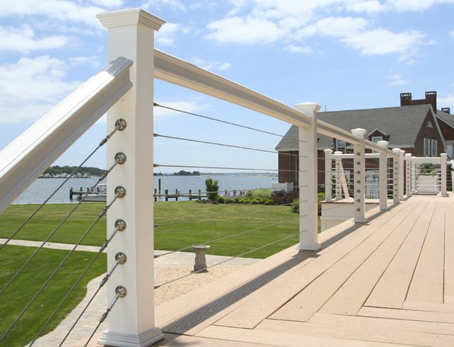 125 Best Images About Deck And Dock Railing On Pinterest