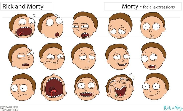 Rick and Morty Storyboard Guidelines - Album on Imgur