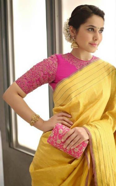 Gorgeous Raasi Khanna Latest Beautiful HD Images