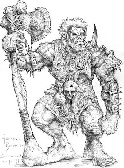 Dungeons And Dragons Orc My Ongoing Conversation With