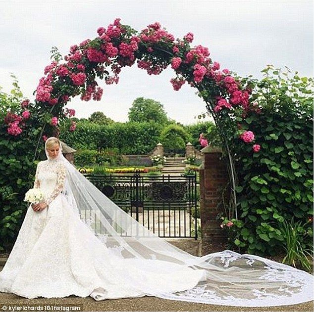 Wedding day drama: While Kyle Richards was at Nicky Hilton's London wedding in July, she r...