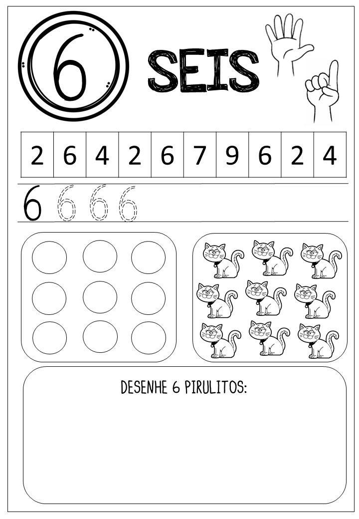 Educacao Infantil Atividades Para Trabalhar Os Numeros 1 A 9