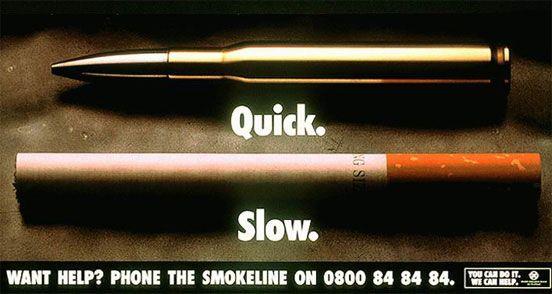 27 impactantes campanhas anti tabagismo - Designerd