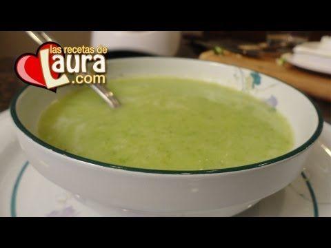 ▶ Crema de Calabacita Recetas Light Las Recetas de Laura - YouTube