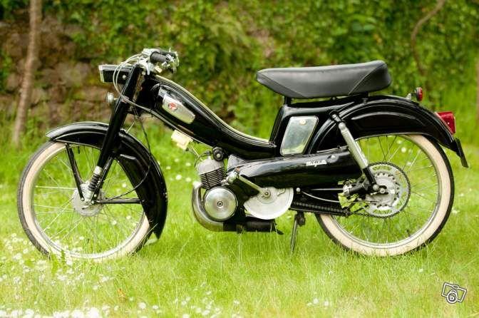Mobylette Motobécane AV68 de 1961